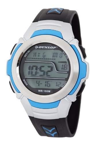 Dunlop Unisex-Armbanduhr Digital Quarz Kunststoff DUN-203-G03