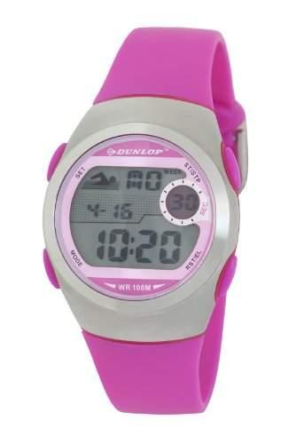 Dunlop Damen-Armbanduhr Digital Kunststoff rosa DUN-206-L05