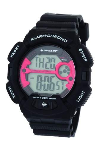 Dunlop Herren-Armbanduhr Digital Quarz Kunststoff DUN-225-G07