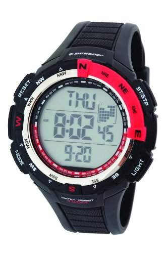 Dunlop Herren-Armbanduhr Digital Quarz Kunststoff DUN-226-G07