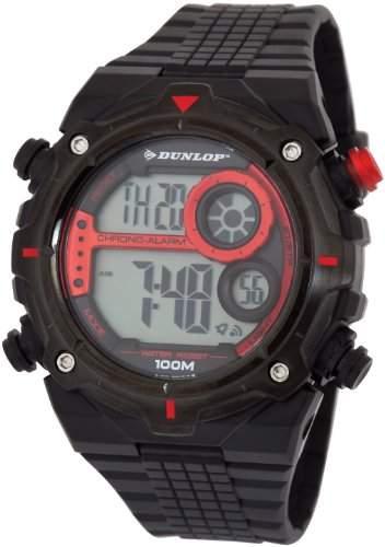 Dunlop Herren-Armbanduhr Digital Quarz Kunststoff DUN-228-G07