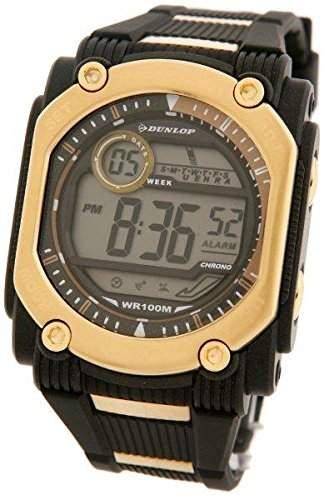Dunlop Herren-Armbanduhr Digital Plastik DUN-78-G06