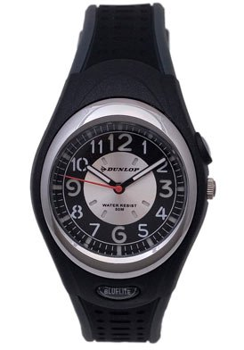 Dunlop Analogic Quartz Watch Black
