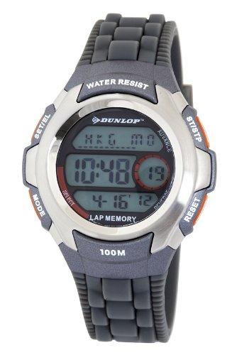 Dunlop Unisex Armbanduhr Digital Quarz Grau DUN 205 G08