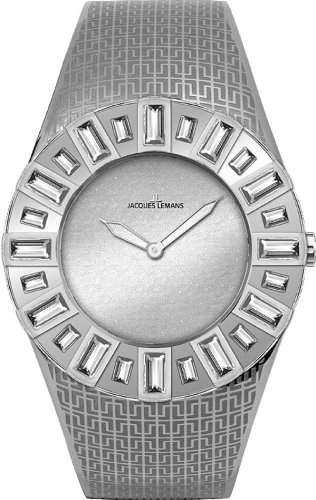 Jacques Lemans La Passion Damen-Armbanduhr Cannes Analog Edelstahl 1-1585H