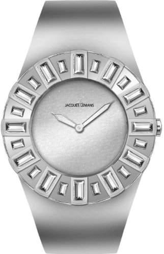 Jacques Lemans La Passion Damen-Armbanduhr Cannes Analog Edelstahl 1-1585M