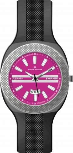 Jacques Lemans Unisex-Armbanduhr Analog Quarz Silikon 373O