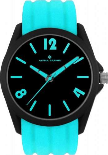 Jacques Lemans Unisex-Armbanduhr Analog Quarz Silikon 380L