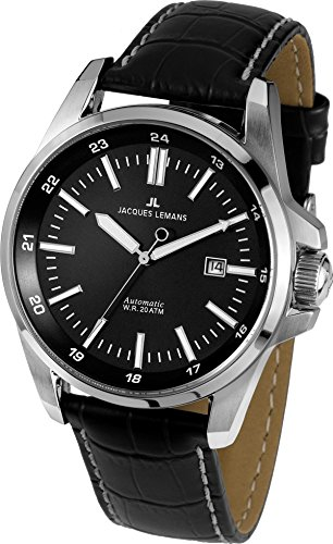 Jacques Lemans Herren Armbanduhr 1 1869A