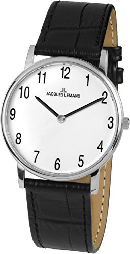 Jacques Lemans Vienna Analog Quarz Leder 1 1849B