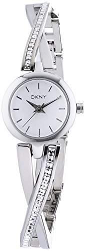 DKNY Damen-Armbanduhr Analog Quarz Edelstahl NY2173