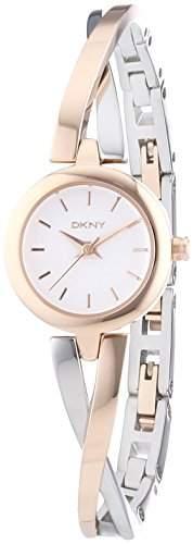 DKNY Damen-Armbanduhr Analog Quarz Edelstahl NY2172