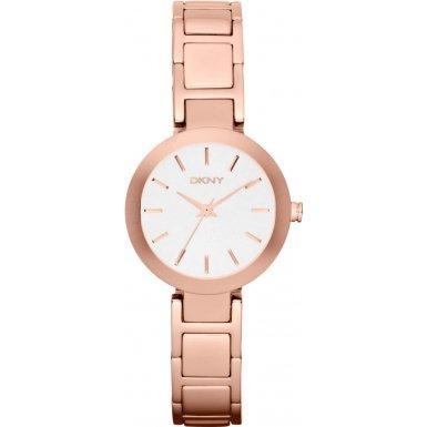 DKNY Damen Armbanduhr Analog Quarz Edelstahl NY2400
