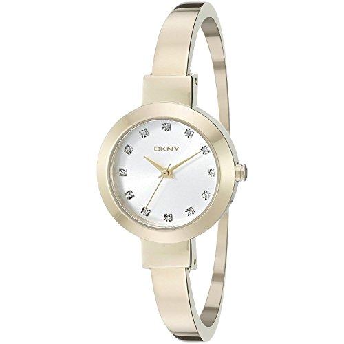DKNY Damen Armbanduhr Analog Quarz Edelstahl NY2410