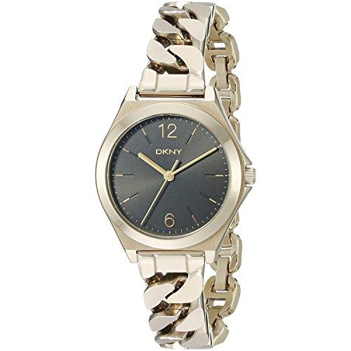 DKNY Damen Armbanduhr Analog Quarz Edelstahl NY2425