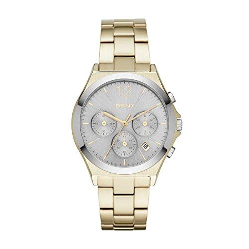 DKNY Damen Armbanduhr Analog Quarz Edelstahl NY2452