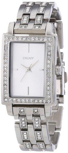 DKNY Damen Armbanduhr Analog Quarz Edelstahl NY8623