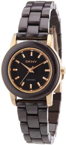 DKNY Damen Armbanduhr XS Analog Quarz Keramik NY8428