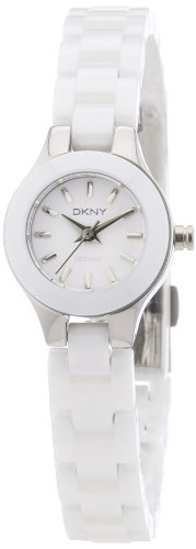 DKNY Damen Armbanduhr XS Analog Quarz Keramik NY8644