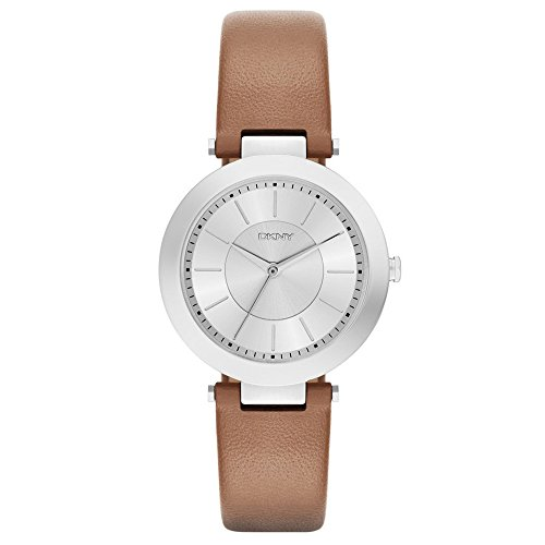 DKNY Damen Armbanduhr Analog Quarz Leder NY2293