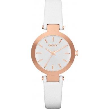 DKNY Damen Armbanduhr Analog Quarz Leder NY2405