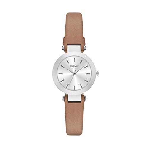 DKNY Damen Armbanduhr Analog Quarz Leder NY2406