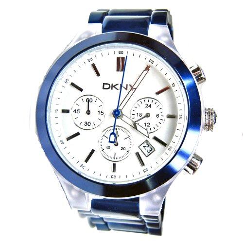DKNY Damen Armbanduhr Chronograph Aluminium NY8265