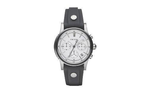 DKNY Damen Armbanduhr Chronograph Kautschuk NY8175