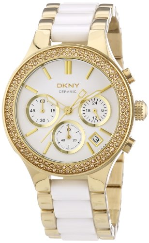 DKNY Chronograph Quarz verschiedene Materialien NY8182