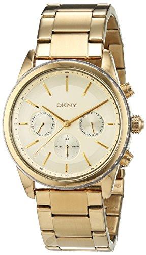 DKNY Rockaway Chronograph Quarz Edelstahl beschichtet NY2330