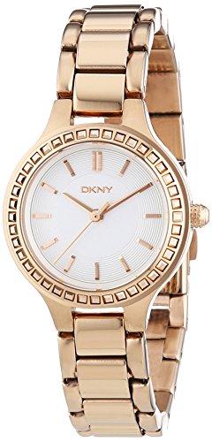 DKNY XS Analog Quarz Edelstahl beschichtet NY2222