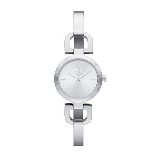 DKNY NY8540 READE Uhr Damenuhr Edelstahl 50m Analog silber