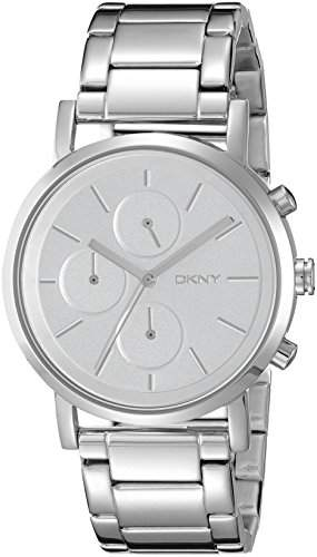 DKNY Damen-Armbanduhr Digital Quarz Edelstahl NY2273