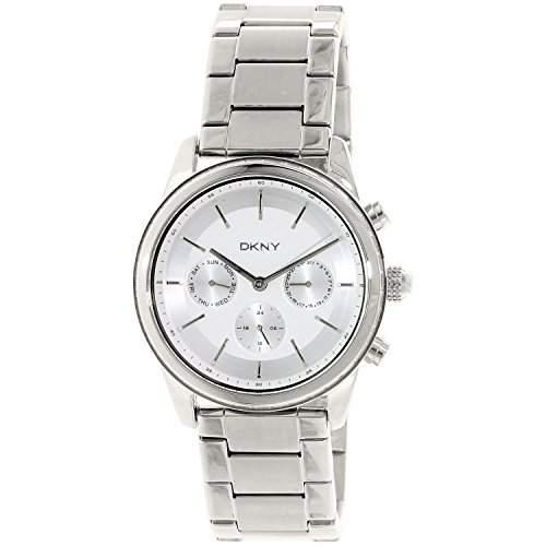DKNY Damen-Armbanduhr Digital Quarz Edelstahl NY2364