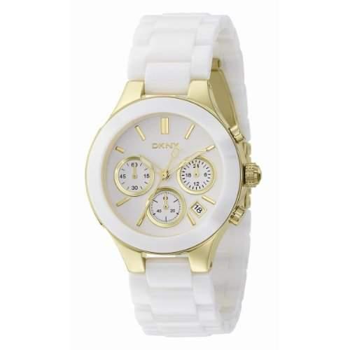 DKNY Damen-Armbanduhr Chronograph Quarz Keramik NY4913