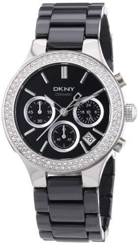 DKNY Damen-Armbanduhr Chronograph Quarz Keramik NY4983