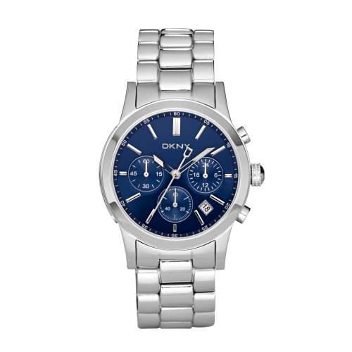 DKNY Unisex-Armbanduhr Analog Edelstahl beschichtet NY8122
