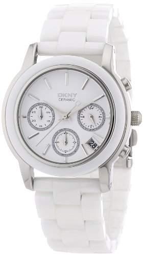 DKNY Damen-Armbanduhr Chronograph Quarz Keramik NY8313