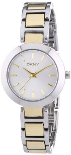 DKNY Damen-Armbanduhr XS Analog Quarz Edelstahl NY8832