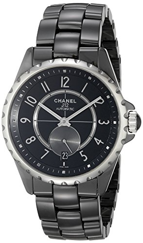 Chanel Damen H3836 Analog Display Automatische selbst wind black watch