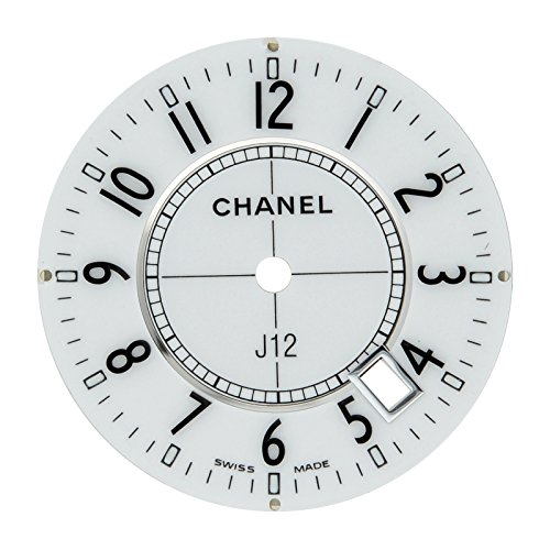 Chanel J12 23 mm weiss Arabisches Zifferblatt fuer 33 mm h0968 Quarzuhr Modell