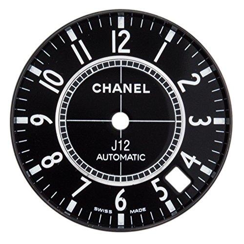 Chanel J12 27 mm schwarz Arabisch Zifferblatt fuer h0685 Automatik Uhr Modell