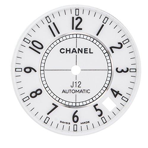 Chanel J12 27 mm weiss Zifferblatt fuer H0970 38 mm Automatik Uhr Modell