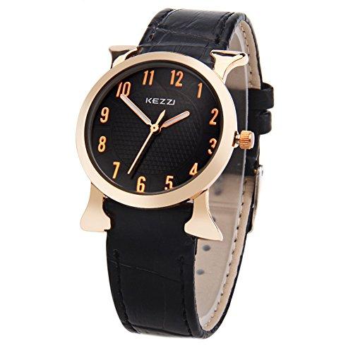 Leopard Shop kezzi K 763L weiblich Quarz Luminous Zeiger Arabische Zahl Display Armbanduhr 3