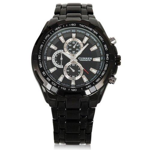 UNIQUEBELLA Business Edelstahl Band Armbanduhr Analog Machinery Sport Quartz Watch Geschenk