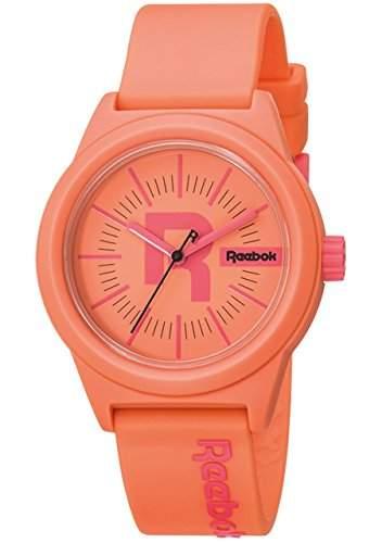 Reebok Damen-Armbanduhr Classic R Analog Quarz Silikon RC-CDR-L2-PCPC-CP