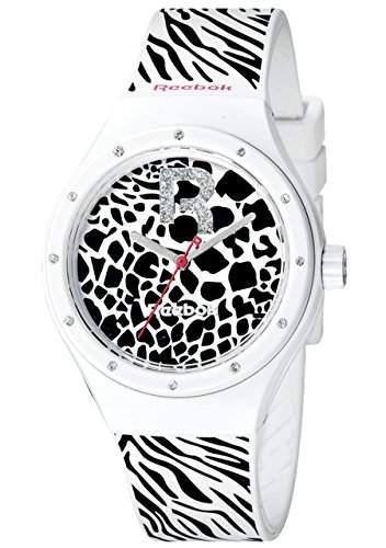 Reebok Damen-Armbanduhr Icon Analog Quarz Silikon RC-IRR-L2-PWIW-BW