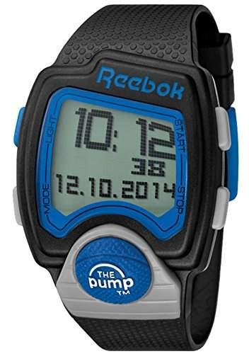 Reebok Herren-Armbanduhr Pump Digital Quarz Silikon RC-PLI-G9-PBPB-BL