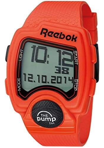 Reebok Herren-Armbanduhr Pump Digital Quarz Silikon RC-PLI-G9-POPO-OB