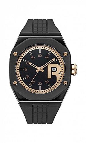 Reebok Armbanduhr rc swa g3 pbib b3 Swag Gent Warrior schwarz rose gold Zifferblatt Silikon WARRIOR schwarz